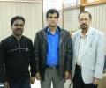 Ehtesham with Dhaka Press club president
