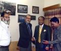 Ehtesham with Ghulam Quader