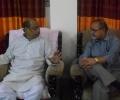 Ehtesham with MP Bangladesh Alhaj Shawkat